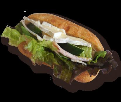たっぷり野菜のマスタードビネガーソースサンド