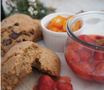 苺と金柑のコンフィチュール